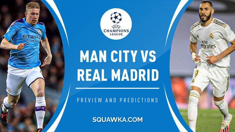 Optimisme Real Madrid Dalam Melawan Manchester City  di Liga Champions 2020